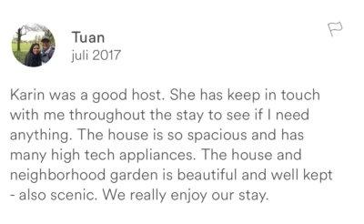 Recensie Airbnb uitbesteden Hilversum