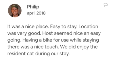 Recensie Airbnb manager Service het Gooi   House sit service
